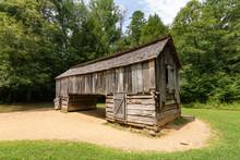 Old Farm Building, Cades Cove,...