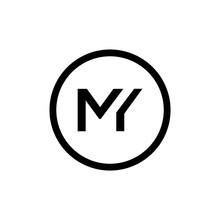 Initial MY Letter Logo Design ...