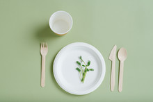 Greens On Eco-friendly Dinner ...