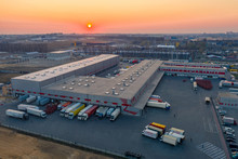 Aerial View Of The Logistics P...