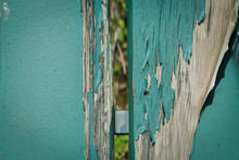 Close-up Of Old Wooden Post
