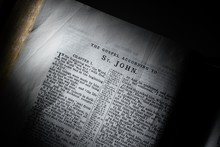 The Book Of John In The King James Version Of The Bible