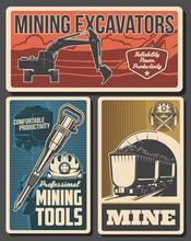 Mine Industry Vector Design Of...