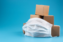 Cardboard Boxes With Goods Fro...
