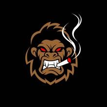 Gorilla Vector Logo, Gorilla A...