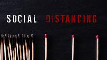 Social Distancing Concept. Mat...