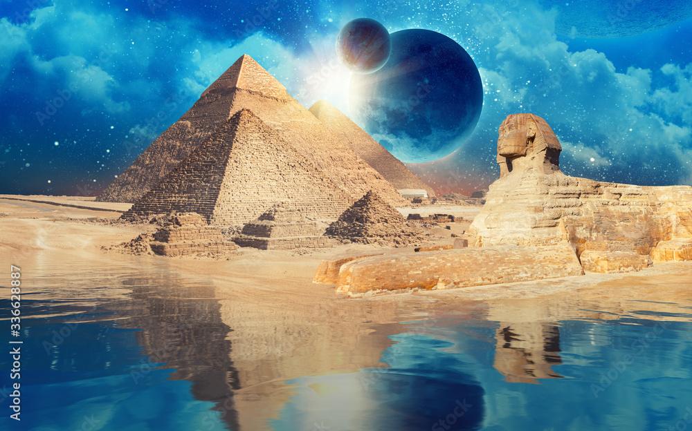 Fototapeta Egypt Cairo - Giza