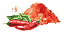 Red Hot Chili Pepper Powder Wi...