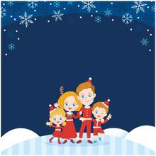 Cute Type Blonde Family_winter4