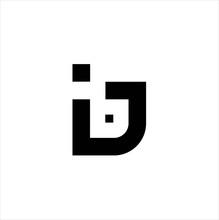Line B Letter Initial Logo Des...
