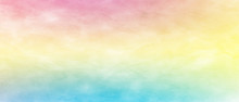 Colorful Watercolor Rainbow Ba...