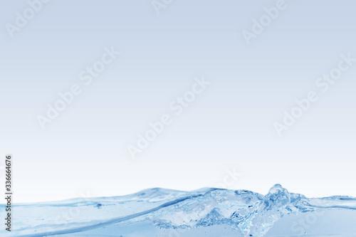 Fototapety, obrazy: 透明感のある水の美しい背景