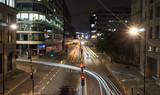 Fototapeta Londyn - Londyn nocą