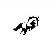 Animal Horse Logo Vector Design Templates