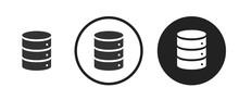 Database Icon . Web Icon Set ....