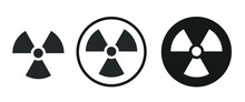 Radiation Area Icon . Web Icon Set .vector Illustration