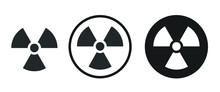 Radiation Area Icon . Web Icon...