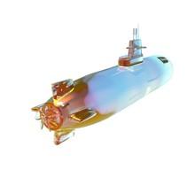 3d Illustration Of The Submarine
