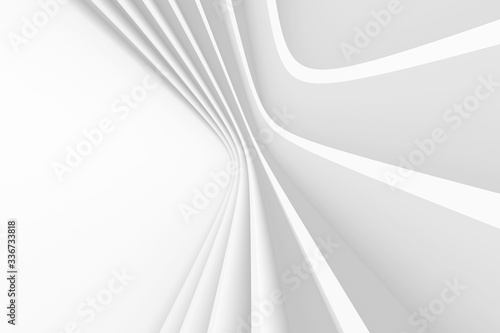 Plakaty do przedpokoju  abstract-architecture-background-white-circular-building