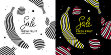 Sale Poster. Bright Banner Wit...