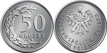 Vector Polish Money Fifty Gros...