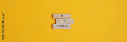 It is possible sign Canvas Print