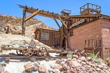 Silver Mine 1890's In Calico Ghost Town, California