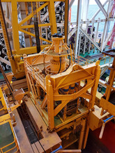 LMRP In Bop Carrier In Drillship Moonpool Area