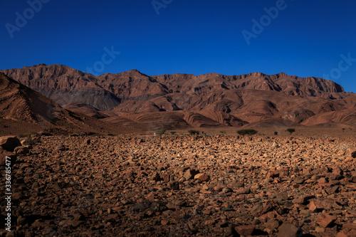 Fototapeta Hügel und Berge in Marokko