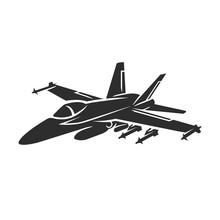 Jet Fighter Vector Illustratio...