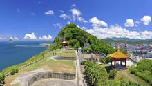 Baimiweng Fort In Keelung City Taiwan