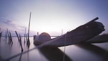 Tam Giang Lagoon Sunset Timelapse, Hue, Vietnam