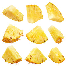 Set Of Pineapple Chunks Or Pin...