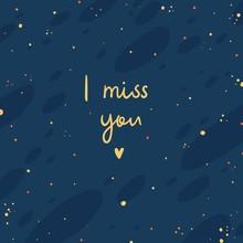 I Miss You Dark Blue -  Digita...