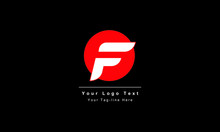 Abstract Letter F Logo Design....