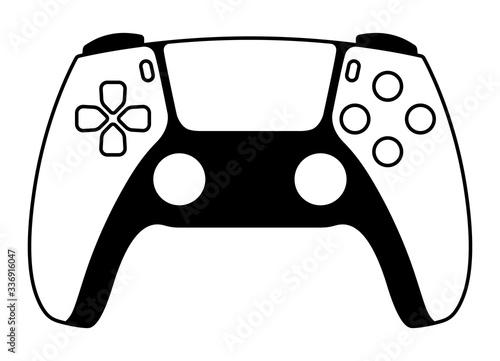 Next generation game controller or gamepad vector icon for gaming apps and websi Tapéta, Fotótapéta