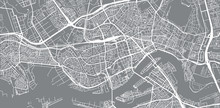 Urban Vector City Map Of Rotte...