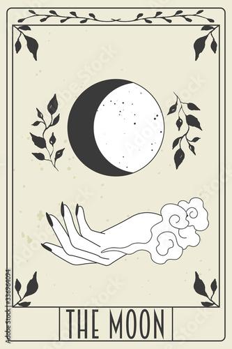 Obraz na płótnie tarot card