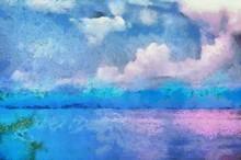 Sea And Sky Illustrations Crea...