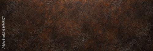 Obraz na płótnie Rostiges Metall als Grunge Hintergrund Textur Struktur
