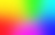 canvas print picture - Multicolor rainbow blurred gradient background. Abstract bright colorful background
