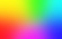 Multicolor Rainbow Blurred Gra...