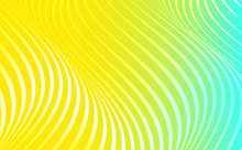Abstract Wave. Colorful Stripe...