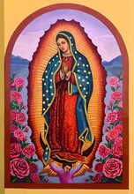 Lady Of Guadalupe Mexico Saint...