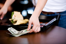 Coffee: Server Finding Gratuity Left On Table