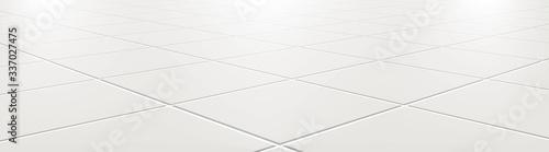 Fotografía Ceramic tiles in the kitchen or bathroom on the floor 3d