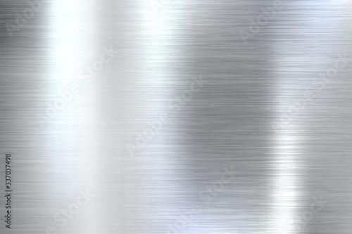 Fototapeta Realistic brushed metal texture