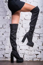 Black Hessian Boots On The Fee...