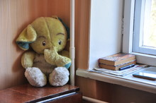 Toy Elephant In The Corner Of ...