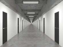 An Endlessly Long Corridor Wit...